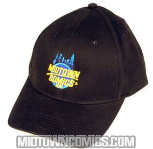 Midtown Comics Logo Cap Black