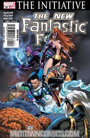 Fantastic Four Vol 3 #549 (The Initiative Tie-In)
