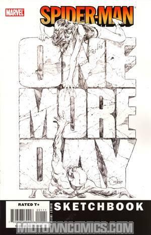 Spider-Man One More Day Sketchbook
