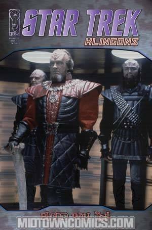 Star Trek Klingons Blood Will Tell #5 Regular Photo Cover
