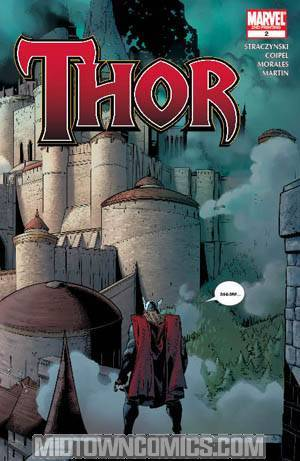 Thor Vol 3 #2 Cover C 2nd Ptg Olivier Coipel Wraparound Variant Cover
