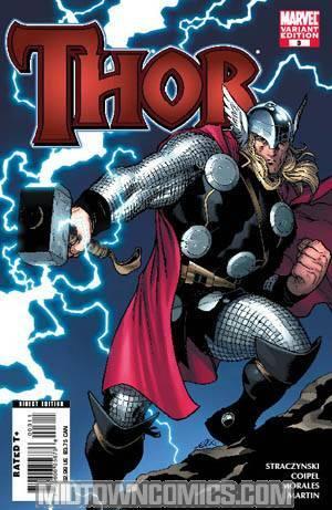 Thor Vol 3 #3 Cover B Ed McGuinness Cover