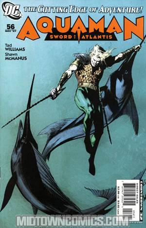 Aquaman Vol 4 #56 Sword Of Atlantis