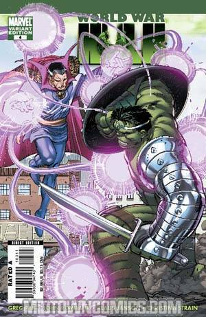 World War Hulk #4 Cover B Incentive John Romita Jr Variant Cover