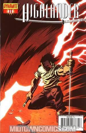 Highlander #11 Regular Michael Avon Oeming Cover