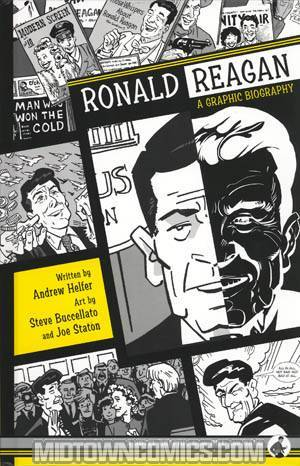Ronald Reagan A Graphic Biography HC