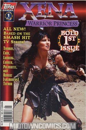 Xena Warrior Princess #1 Photo Cvr B