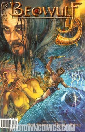 Beowulf Movie Adaptation #2 Cover A Regular Mark A Nelson Cover