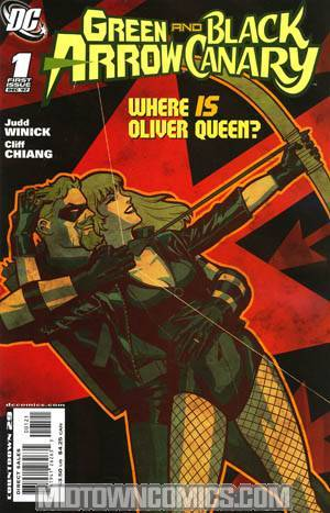 Green Arrow Black Canary #1 Incentive Cliff Chiang Variant Cover