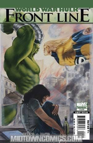 World War Hulk Front Line #5