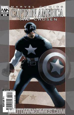 Captain America The Chosen #3 Travis Charest Cover