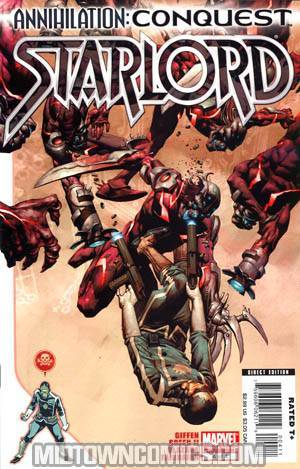 Annihilation Conquest Star-Lord #4