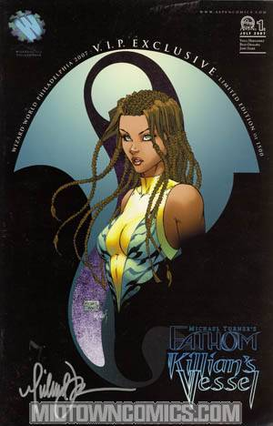 Fathom Killians Vessel #1 Cover C WWP VIP Edition Signed By Michael Turner