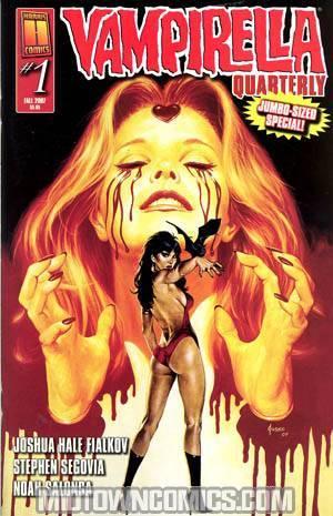 Vampirella Quarterly #3 Fall 2007 Joe Jusko Regular Cover