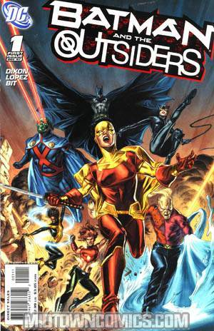 Batman And The Outsiders Vol 2 #1 Cover A 1st Ptg