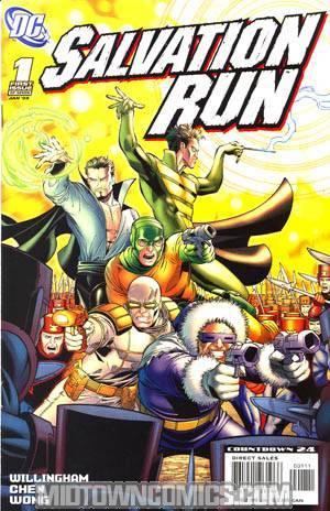 Salvation Run #1 Cover A Regular Sean Chen Cover