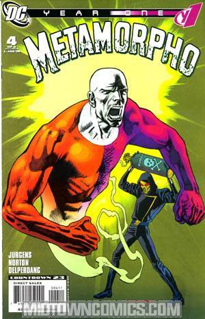 Metamorpho Year One #4