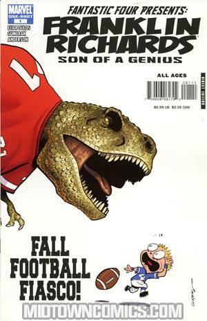 Franklin Richards Fall Football Fiasco