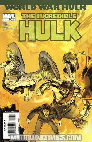 Incredible Hulk Vol 2 #111 Cover A Regular Carlo Pagulayan Cover (World War Hulk Tie-In)