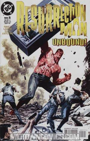Resurrection Man #5