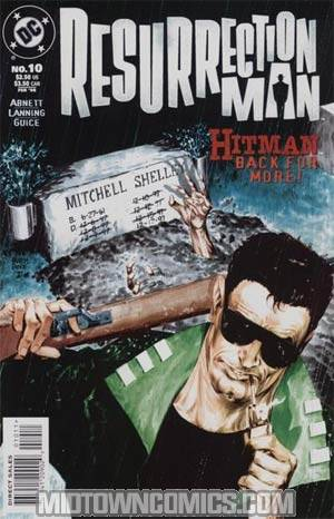 Resurrection Man #10