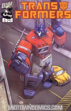 Transformers Generation 1 #1 2nd Printing Autobot Cvr