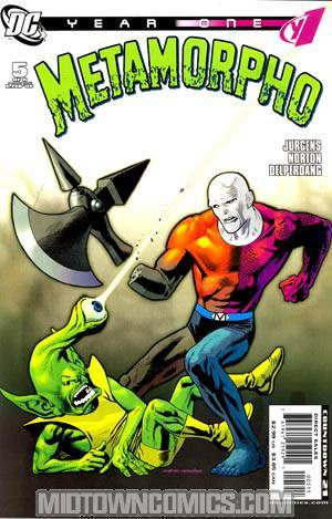 Metamorpho Year One #5