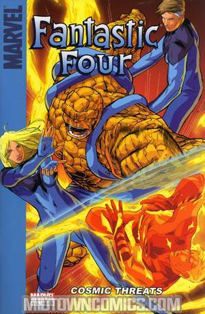 Giant-Size Fantastic Four Cosmic Threats