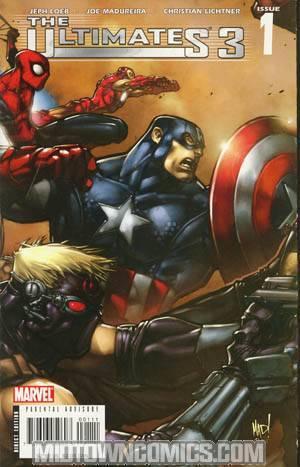 Ultimates 3 #1 1st Ptg Gatefold Heroes Cover