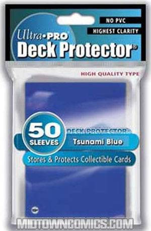 Ultra Pro Gaming Solid Deck Protector Blue