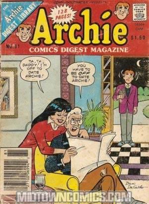 Archie Comics Digest Magazine #81