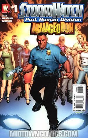 Stormwatch Armageddon #1