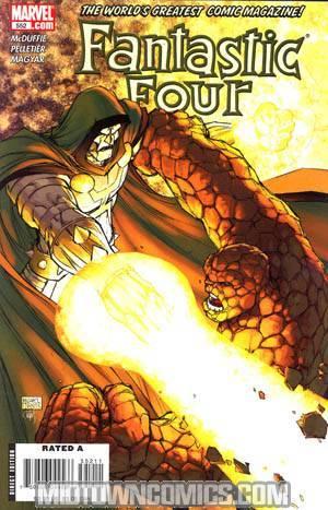 Fantastic Four Vol 3 #552
