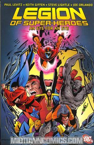 Legion Of Super-Heroes An Eye For An Eye TP