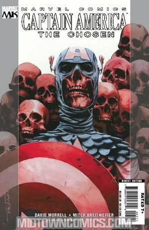 Captain America The Chosen #5 Mitch Breitweiser Cover