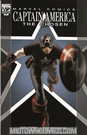 Captain America The Chosen #5 Travis Charest Cover