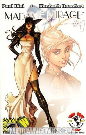 Madame Mirage #1 Cover D Summer Con Exclusive Kenneth Rocafort Variant Cover