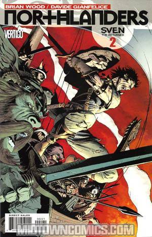 Northlanders #2 Incentive Andy Kubert Variant Cover
