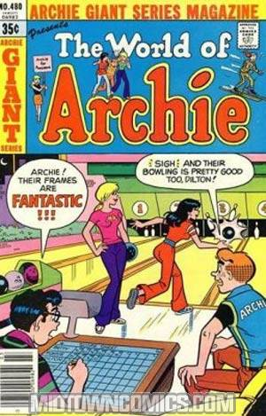 Archie Giant Series Magazine #480
