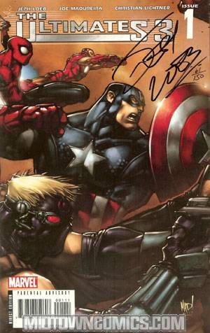 Ultimates 3 #1 Signed Edition
