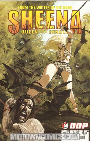 Sheena #4 Cover B Frazer Irving