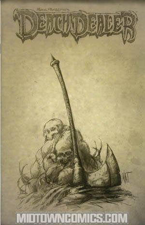 Frank Frazettas Death Dealer #6 Incentive Nat Jones Sketch Variant Cover