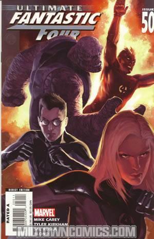 Ultimate Fantastic Four #50 Regular Marko Djurdjevic Cover