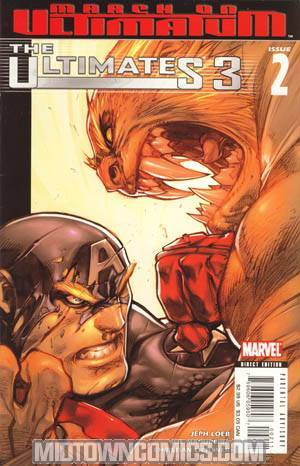 Ultimates 3 #2 1st Ptg Regular Joe Madureira Cover