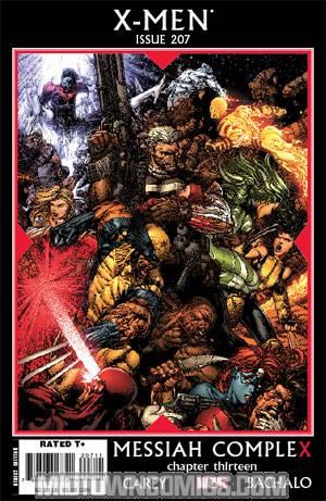 X-Men Vol 2 #207 Cover A Regular David Finch Cover (X-Men Messiah CompleX Part 13)