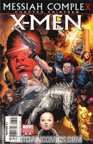 X-Men Vol 2 #207 Cover B Incentive Jim Cheung Variant Cover (X-Men Messiah CompleX Part 13)