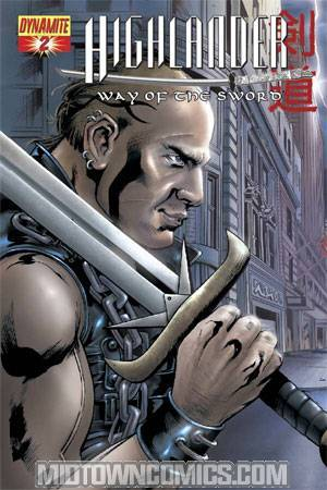 Highlander Way Of The Sword #2 Left Side Kurgan Cover