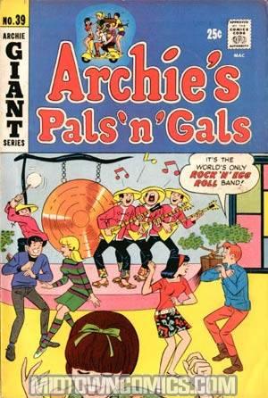 Archies Pals N Gals #39