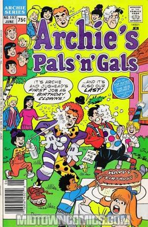 Archies Pals N Gals #197