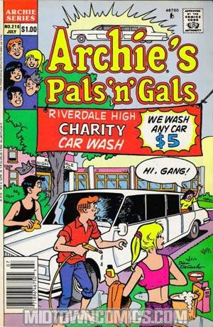 Archies Pals N Gals #216